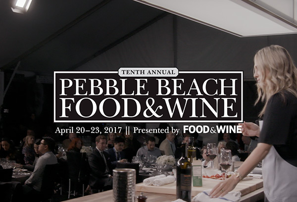 Dacor: Pebble Beach Food & Wine Festival Event